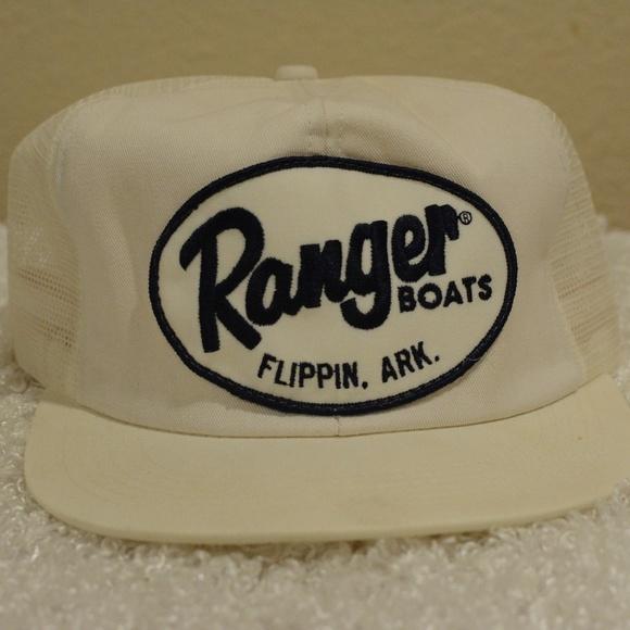 2db4acab485 Vintage cap hat Ranger Boats Flippin Arkansas. M 5b19a27f34a4ef2f46d74d8d
